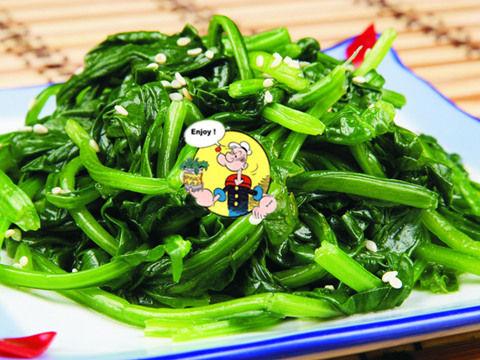 跟着大力水手一起吃菠菜让你年轻11岁