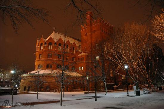 美国,宾西法尼亚州,费城,宾西法尼亚大学,费舍艺术图书馆。Fisher Fine Arts Library, University of Pennsylvania, Philadelphia, PA