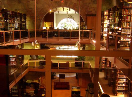 美国,乔治亚州,亚特兰大市,爱莫瑞大学,皮次神学图书馆。Pitts Theology Library, Emory University, Atlanta, GA