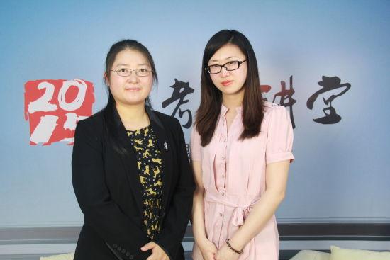 中国青年政治学院招生办副主任冯杰梅老师做客新浪