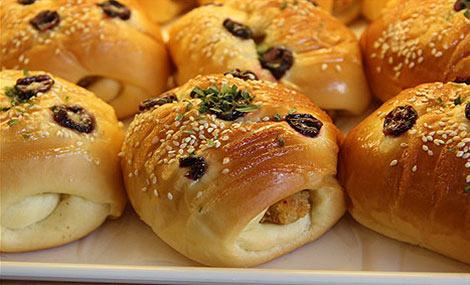 第五天早餐:面包鸡柳