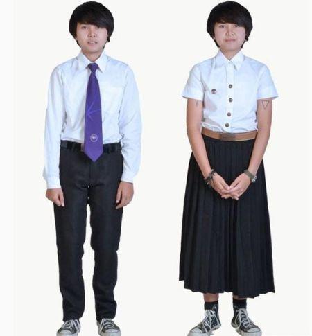 高中男生穿衣服装搭配图片大全