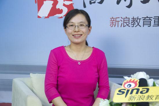北京物资学院招办主任孙静老师