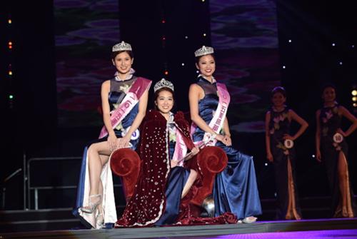 2015纽约华裔小姐选美结果出炉 高中生夺冠-美国高中网