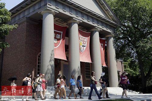 哈佛大学校园(资料图片)