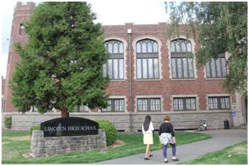 林肯中学(图片来自于网络)