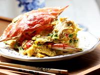 鲜美入味的蛋�h螃蟹