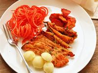普罗旺斯烤三文鱼排
