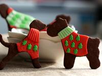 圣诞狗饼干