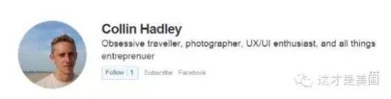 来自网友Collin Hadley的回答: