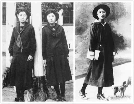 早期日本女校水手服
