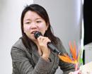 教育频道主编彭昆女士发言