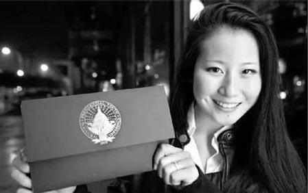 中国女孩获邀出席奥巴马就职典礼(图)