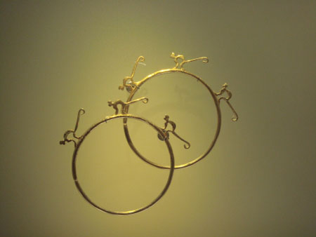 探访哥伦比亚最珍贵的黄金饰物(组图)