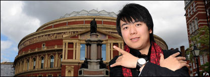 The pianist Lang Lang