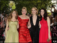 The four main stars of Sex and the City: Sarah Jessica Parker, Kim Cattrall, Cynthia Nixon and Kristin Davis
