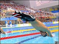 American swimmer Michael Phelps
