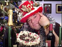 Andy Parks, aka Mr Christmas