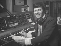 Tony Blackburn, first Radio 1 DJ