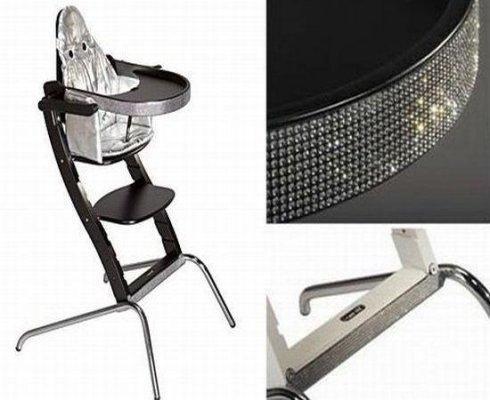 施华洛世奇水晶高脚椅