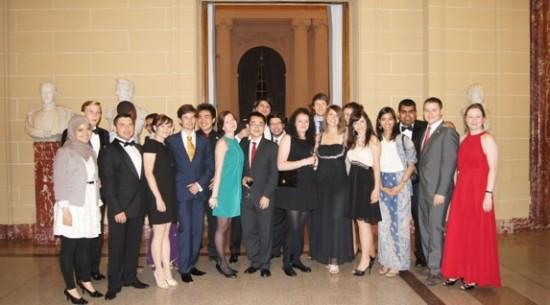 G20青年峰会组委会成员合影-中国代表团首次参与G20青年峰会成果丰