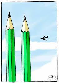铅笔为什么是纪念巴黎暴恐主角?