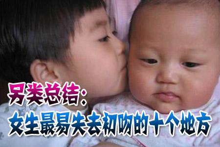 2月25日青春社区快报:女生最易失去初吻的地方