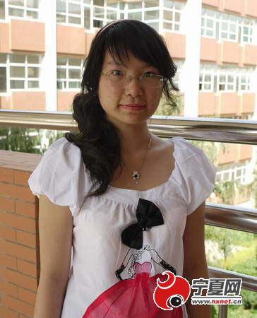 对话宁夏文科状元李怡然:我不是书呆子(图)
