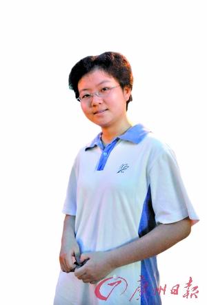 广东超高分考生:我们爱学也爱玩(组图)
