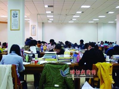潍坊市5834名考生今日考研考研热仍未退烧(图)