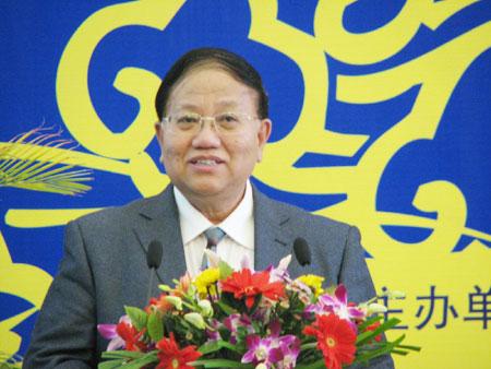 图文:商务印书馆总经理杨德炎发表讲话