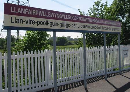 国外九个超级搞笑的地名:Llanfair(组图)