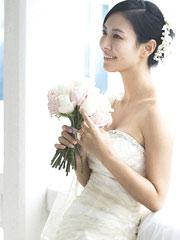 金素妍婚纱写真爆乳