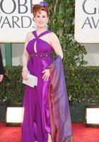 卡特-克拉梅尔紫裙靓丽