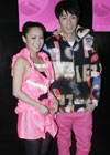 郑融(左)周柏豪