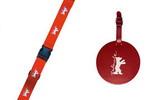 皮绳和行李标签