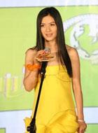 田海蓉黄裙亮眼