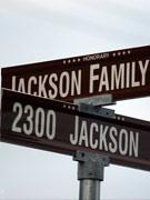 以杰克逊命名的街道