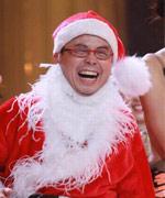 黄一山搞笑圣诞装