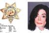 杰克逊被捕时存档照