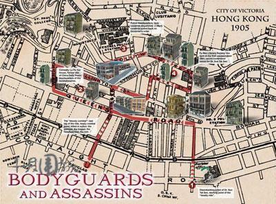 《十月围城》地图