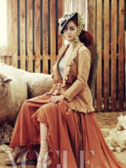 金泰熙化身牧羊女