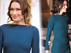 法总统夫人不穿胸衣会见俄总统惹争议