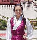 02年9月西藏献爱心