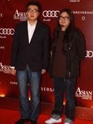 陈国辉(左)夏永康
