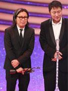 《十月围城》获最佳电影奖陈可辛于冬领奖