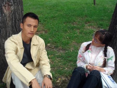 耿乐和焦俊艳《跟我的前妻谈恋爱》剧照