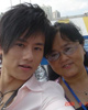 张杰与妈妈