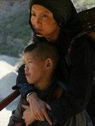米香和儿子相依为命