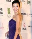 金敏善紫裙裹身